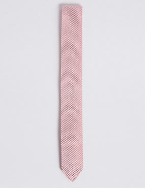 Knitted Tie, PALE PINK, catlanding
