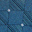 Pure Silk Square Motif Tie, NAVY MIX, swatch