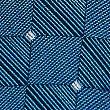 Pure Silk Geometric Print Tie, NAVY MIX, swatch