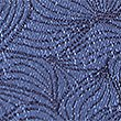 Pure Silk Leaf Motif Tie, BLUE MIX, swatch
