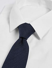 Wool Rich Herringbone Tie