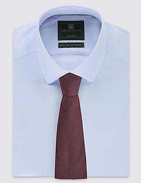 Wool Blend Wide Twill Tie