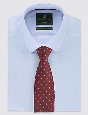 Classic Spotted Tie with Wool