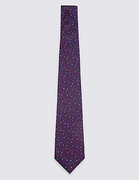 Pure Silk Squiggle Tie