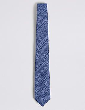 Pure Silk Grenadine Textured Tie