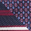 2 Pack Striped & Textured Ties, BURGUNDY MIX, swatch