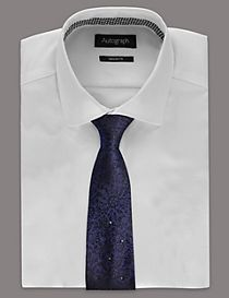 Pure Silk Tie MADE WITH SWAROVSKI® ELEMENTS
