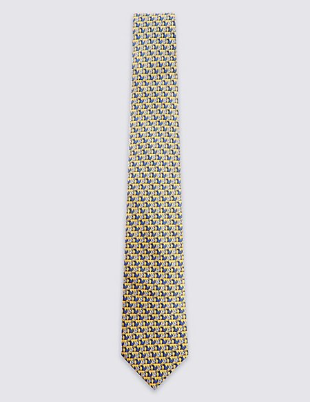 Pure Silk Fox Tie