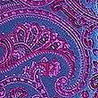 Pure Silk Paisley Tie, FUCHSIA MIX, swatch