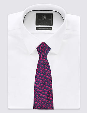 Pure Silk Cheeky Monkey Print Tie