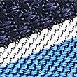 Pure Silk Striped Tie, BLUE MIX, swatch