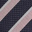 Pure Silk Striped Tie, PALE PINK MIX, swatch