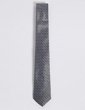 Pure Silk Micro Fish Tie, , catlanding