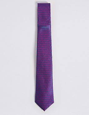 Pure Silk Seahorse Tie, , catlanding