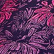 Pure Silk Floral Tie, MAGENTA MIX, swatch