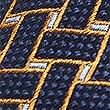 Pure Silk Lattice Tie, GOLD MIX, swatch