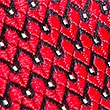 Pure Silk Micro Spotted Tie, RED, swatch