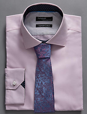 Pure Silk Floral Textured Tie
