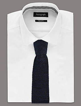 Narrow Fit Knitted Tie