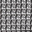 Pure Silk Geometric Tie, BEIGE MIX, swatch