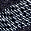 Silk Rich Striped Tie, BLUE MIX, swatch