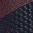 Silk Rich Striped Tie, BURGUNDY MIX, swatch