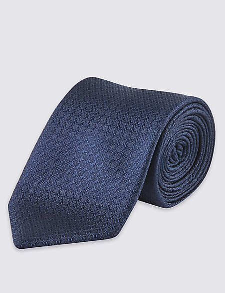 Pure Silk Contemporary Textured Tie