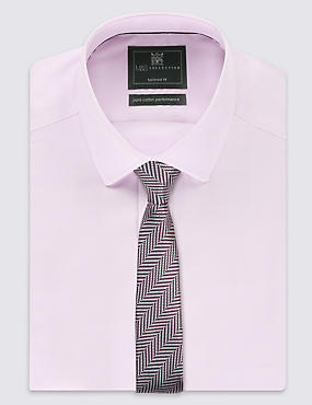 Slim Fit Textured Tie