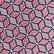 Geometric Print Tie, PINK MIX, swatch
