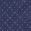 Pure Silk Spotted Tie, NAVY MIX, swatch