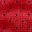 Pure Silk Spotted Tie, RED MIX, swatch