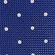 Pure Silk Spotted Tie, BLUE MIX, swatch