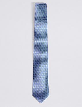 Textured Tie, SKY BLUE, catlanding