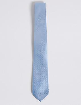Twill Tie, CORNFLOWER, catlanding