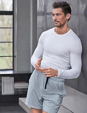 Stay Soft Long Sleeve Vest, WHITE, catlanding