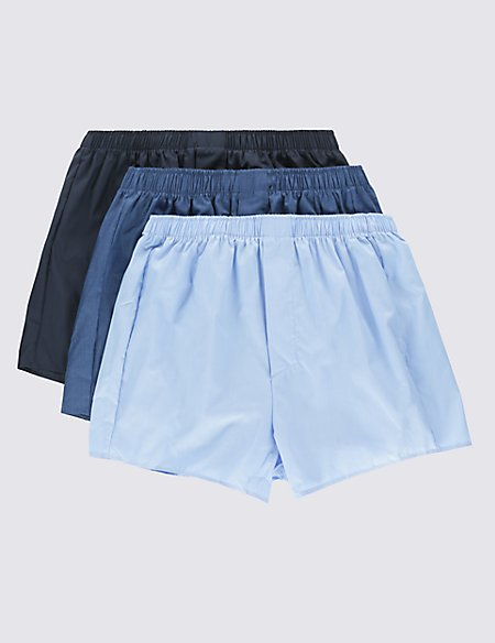 3 Pack Assorted Boxers