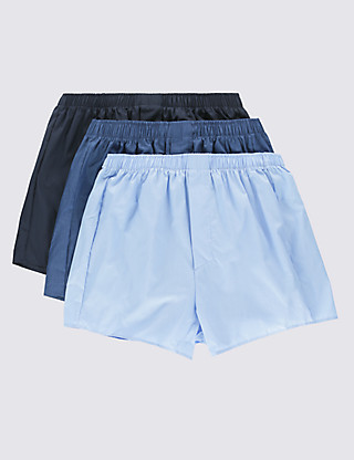 3 Pack Assorted Boxers Clothing