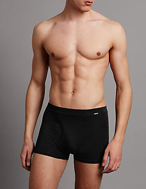 2 Pack Modal Blend Trunks, BLACK, catlanding