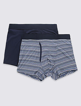 2 Pack Modal Blend Assorted Trunks