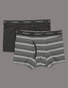 2 Pack Stretch Assorted Trunks