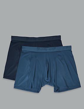 2 Pack Microskin Trunks, BLUE MIX, catlanding