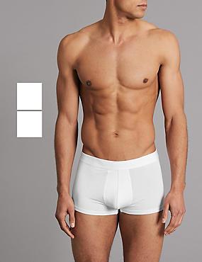 2 Pack Modal Blend Hipster, WHITE, catlanding