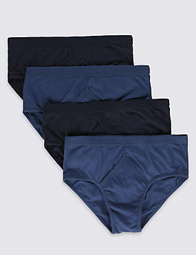 4 Pack Classic Pure Cotton Briefs