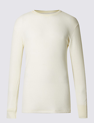 Long Sleeve Thermal Vest with Merino Wool Clothing