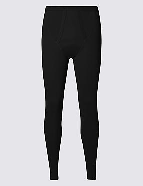 Cotton Rich Thermal Long Pants