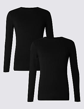 2 Pack Heatgen™ Long Sleeve Vests