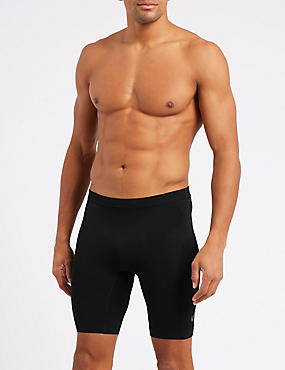 Active Stretch Trunks, BLACK, catlanding