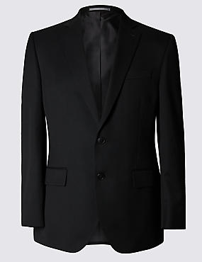 Black Regular Fit Suit Including Waistcoat