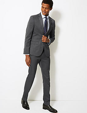Grey Modern Slim Fit Suit