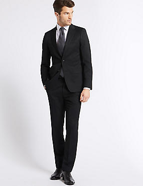 Big & Tall Charcoal Slim Fit Suit